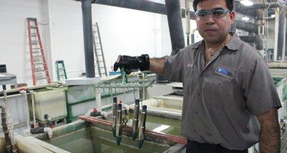Chemical Wash for Metal Plating